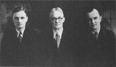 Dr. Robert Kohn, Dr. Eugene Kohn,  and Dr. Irwin Krohn